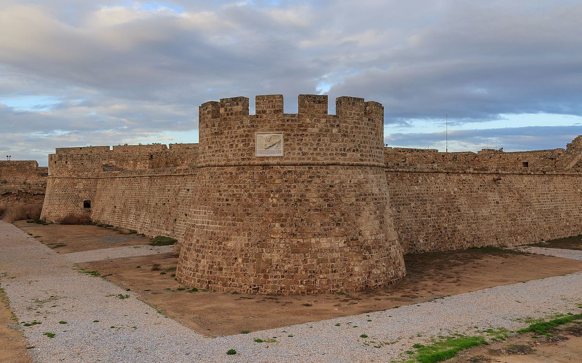 Famagusta 01 2017 img26 city walls Othello Tower
