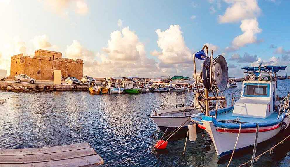 Paphos Harbour Castle choose you cyprus