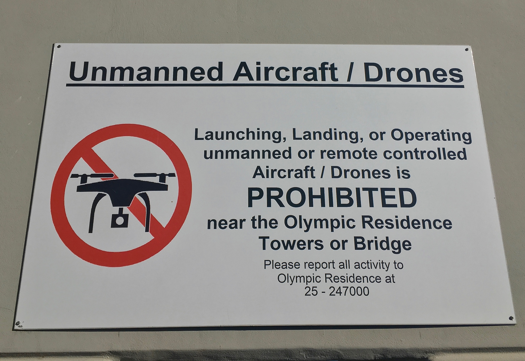 Drones Olympic Residence