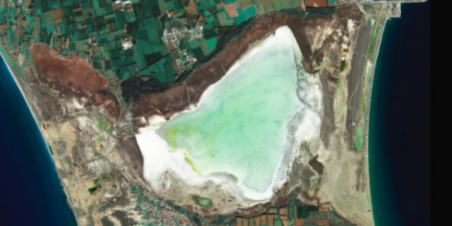Limassol Salt Lake Cyprus SPACE ISS