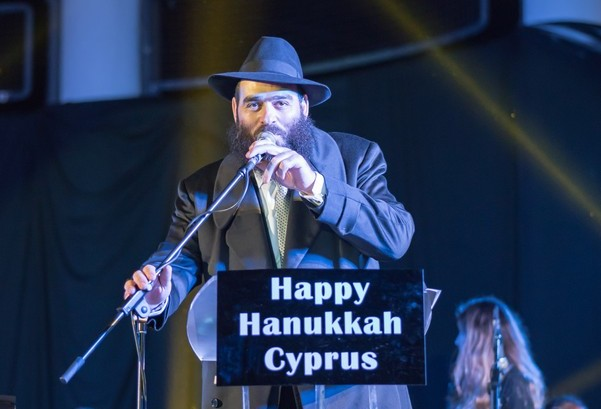 Chief Rabbi of Cyprus Rabbi Arie Zeev Raskin