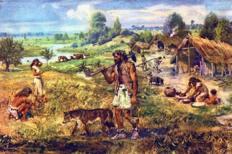кипрская деревня 11 тыс лет назад