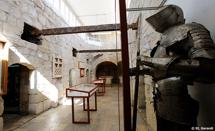 Limassol Upper hall Castle Medieval Museum of Cyprus lrg