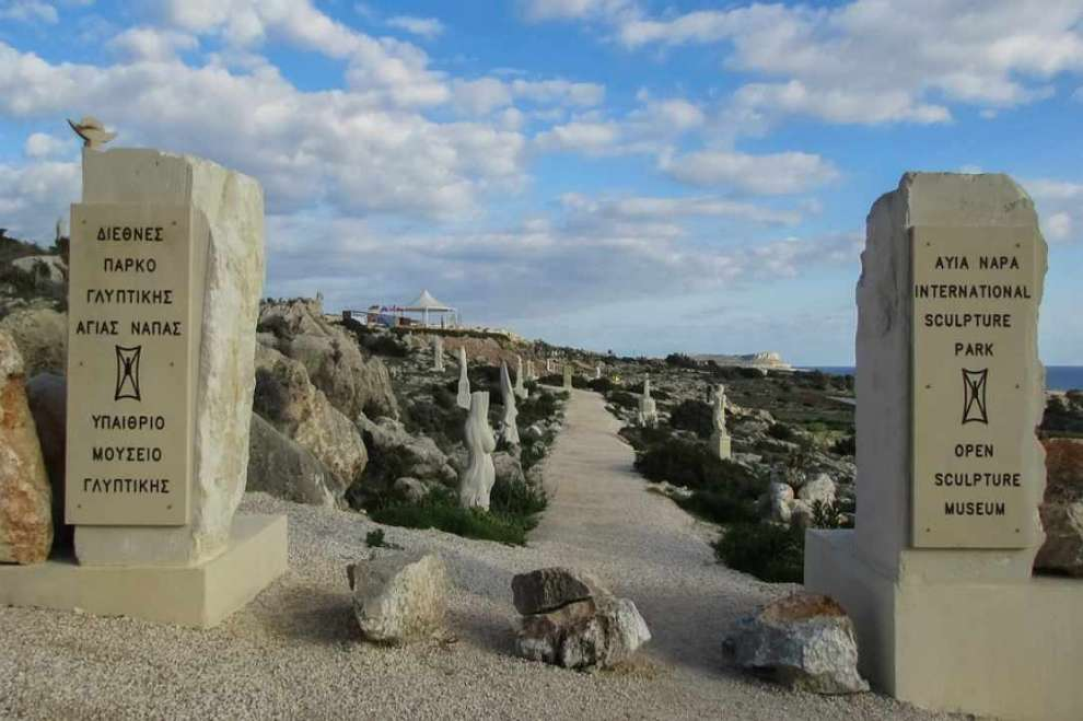 sculpture park ayia napa cyprusalive