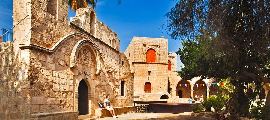 agia napa monastery incyprus