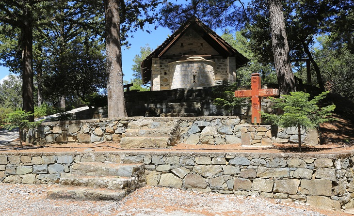 Chapel of the Holy Cross Troodos