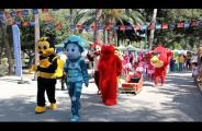 XIII Кипрско-российский фестиваль, парад сказочных героев, 3 июня 2018