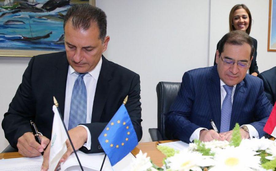 Кипр иЕгипет подписали соглашение опоставках газа потрубопроводу